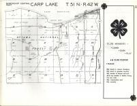 Carp Lake T51N-R42W, Ontonagon County 1959
